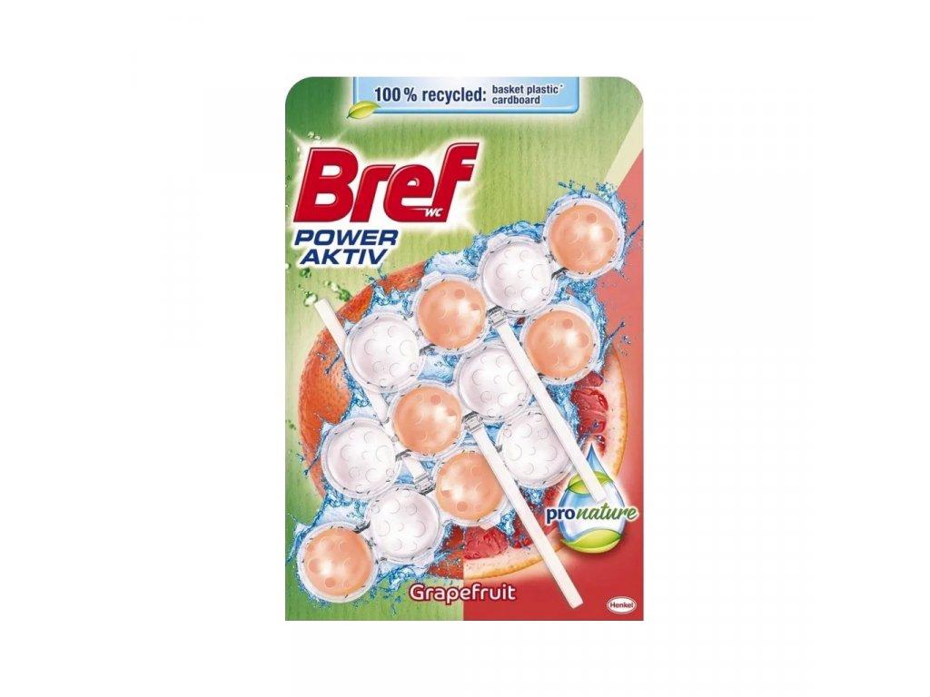 Bref Power Active Pro Nature Grapefruit WC Blok 3x50g