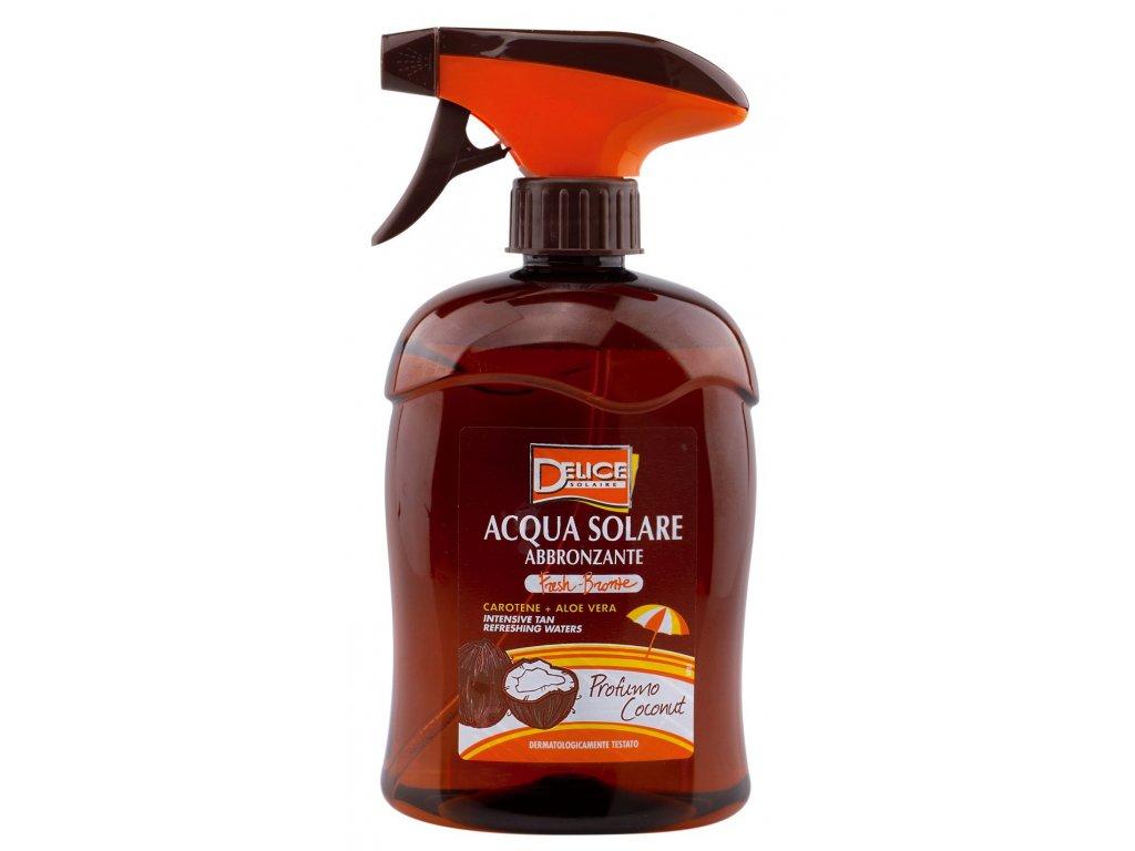 Delice Solaire voda na intenzívne opálenie s beta-karoténom 500ml