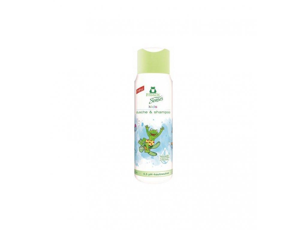 FROSCH Eko Senses Kids sprchovací gél a šampón 300 ml