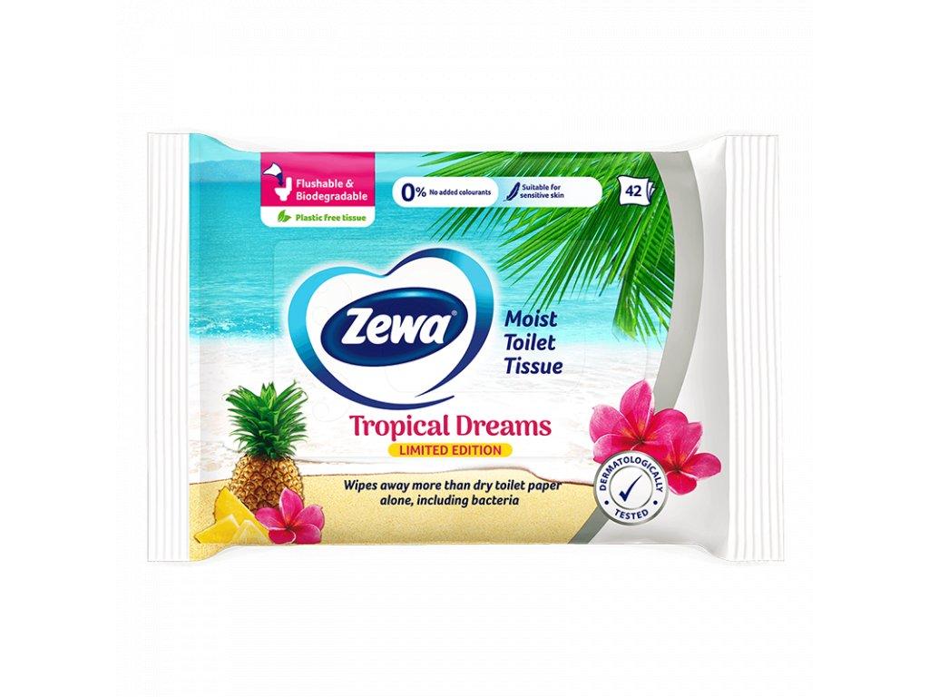 Zewa Tropical vlhčený toaletný papier 42ks