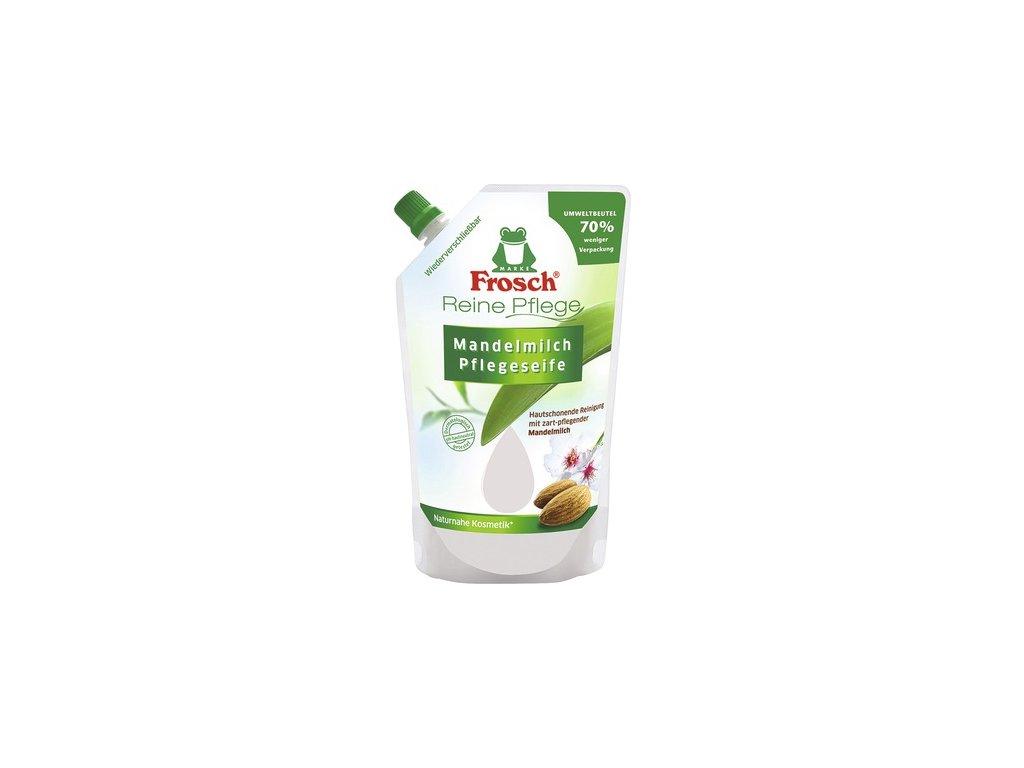 Frosch Mandlové mlieko tekuté mydlo náplň 500ml