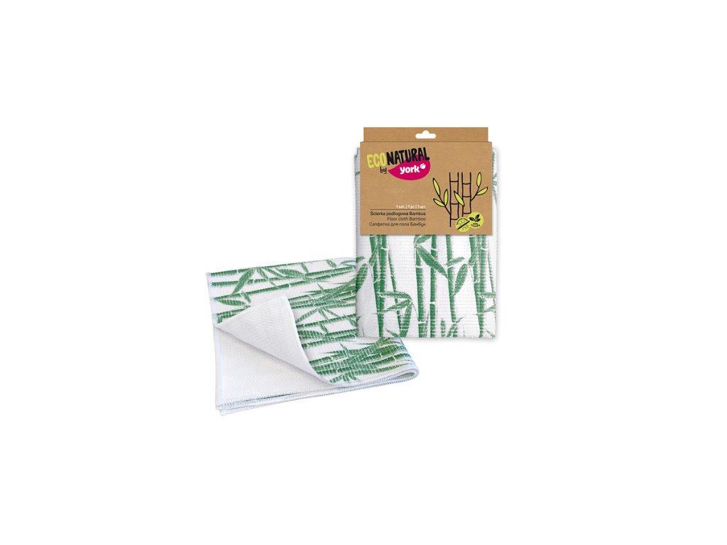 York Eco Natural Handra na podlahu Bambus 50x50cm 1ks