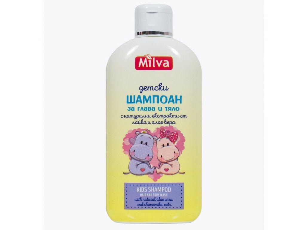 Milva prírodný šampón pre deti 200ml