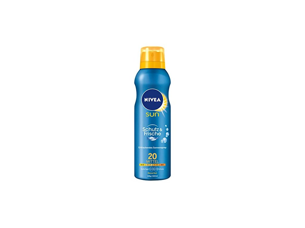 Nivea Sun Protect & Refresh SPF20 sprej na opaľovanie 200ml