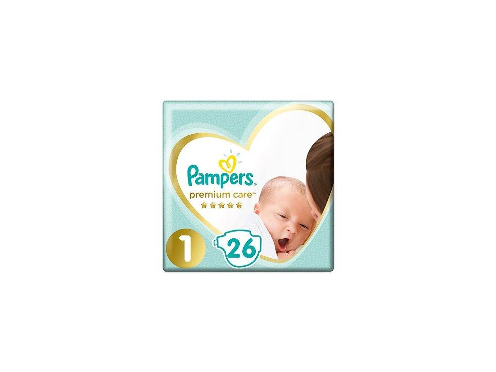 Pampers Premium Care Plienky 1 26ks (2 5kg)