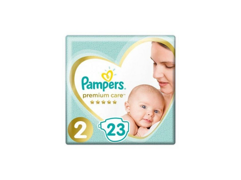 Pampers Premium Care Plienky 2 23ks (4 8kg)