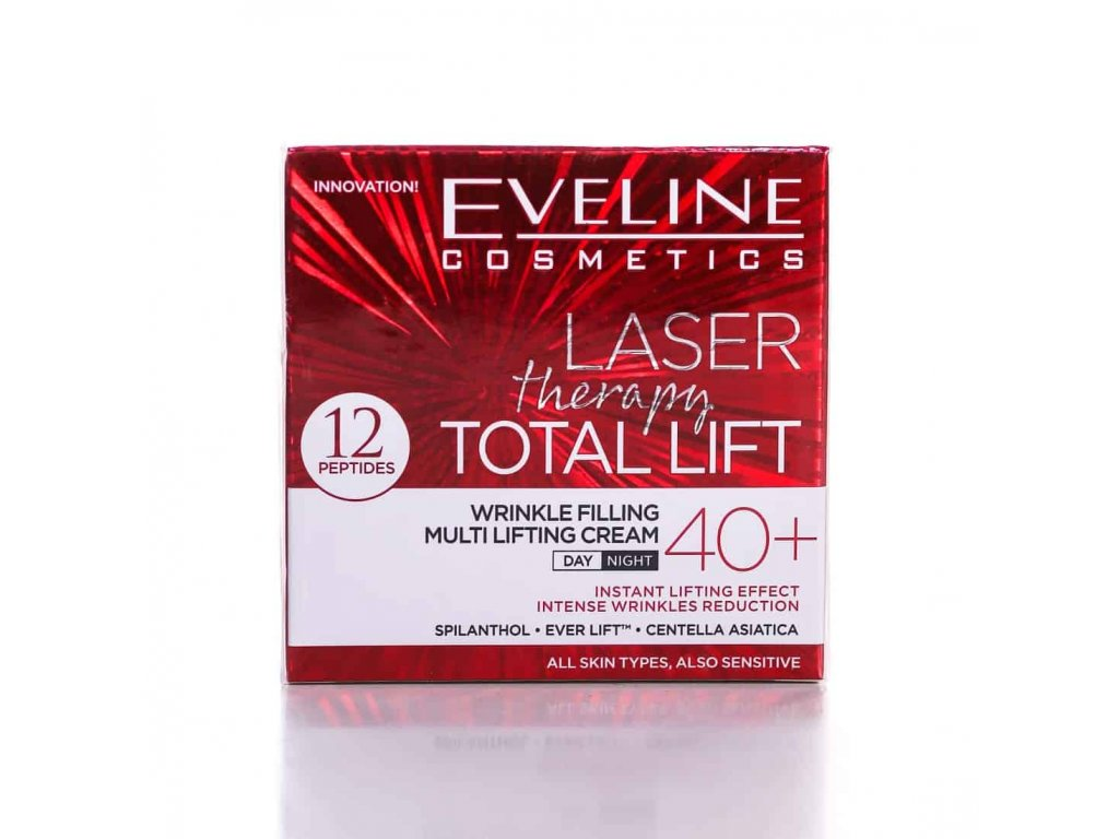 EVELINE LASER Therapy TOTAL LIFT 40+ krém proti vráskam 50ml