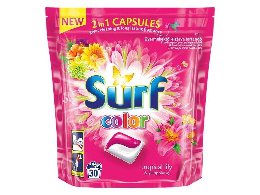 Surf Tropical color gélové kapsule 42ks