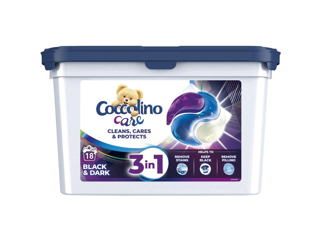 Coccolino Care black&dark kapsule 18 PD
