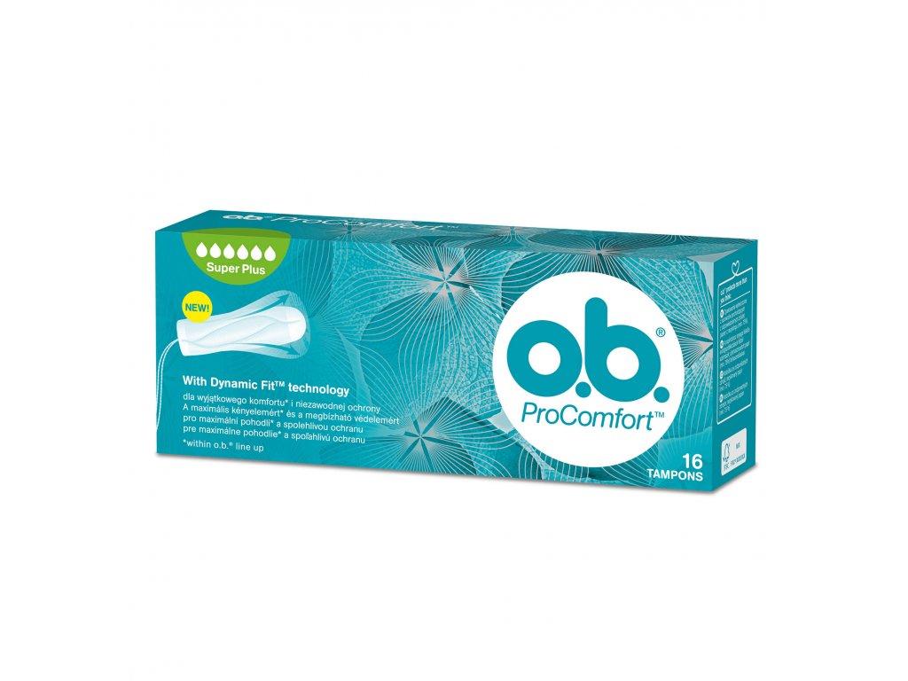O.B. ProComfort Super Plus tampon 16 ks