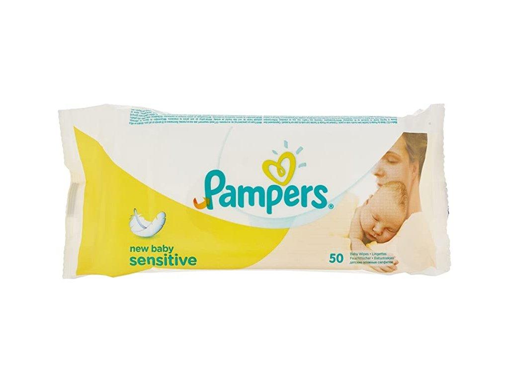 Pampers new baby sensitive vlhčené utierky 50ks