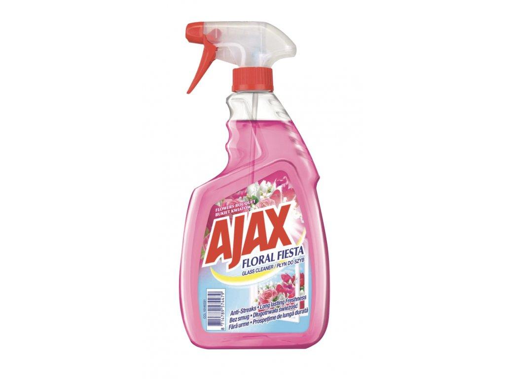 Ajax Floral Fiesta čistič skla 500ml