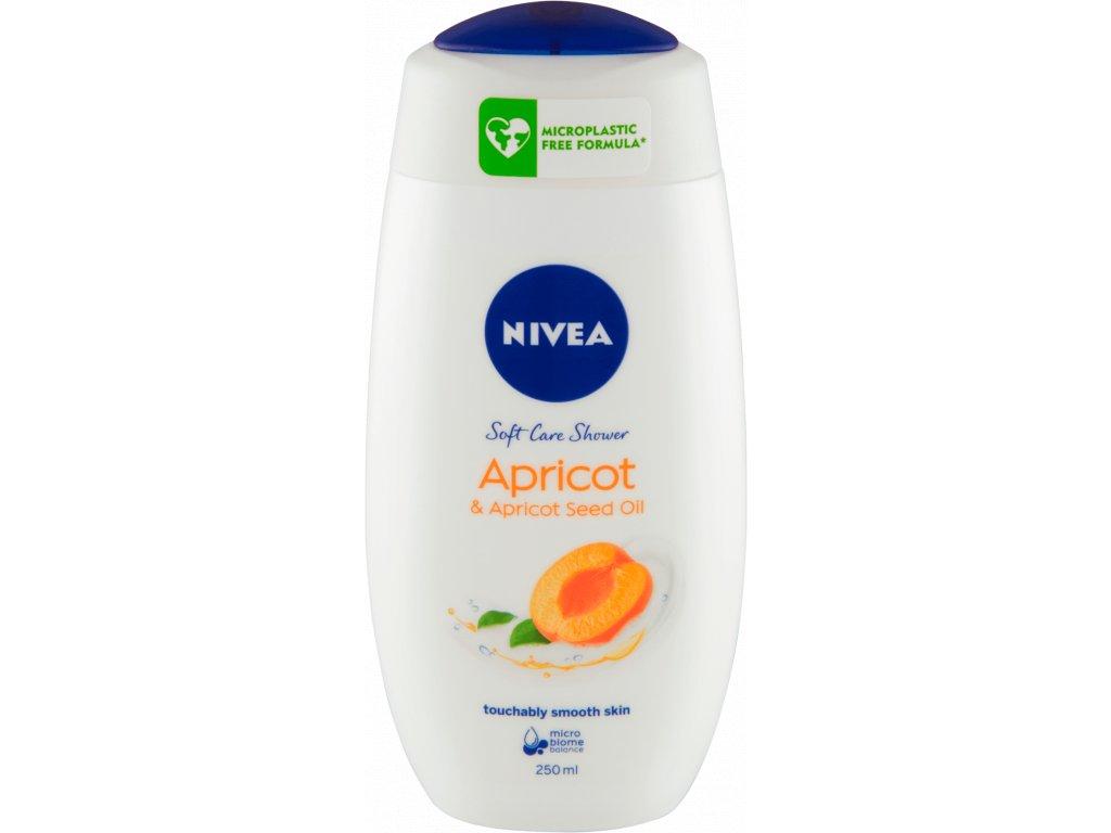 Nivea Apricot sprchový gél 250 ml