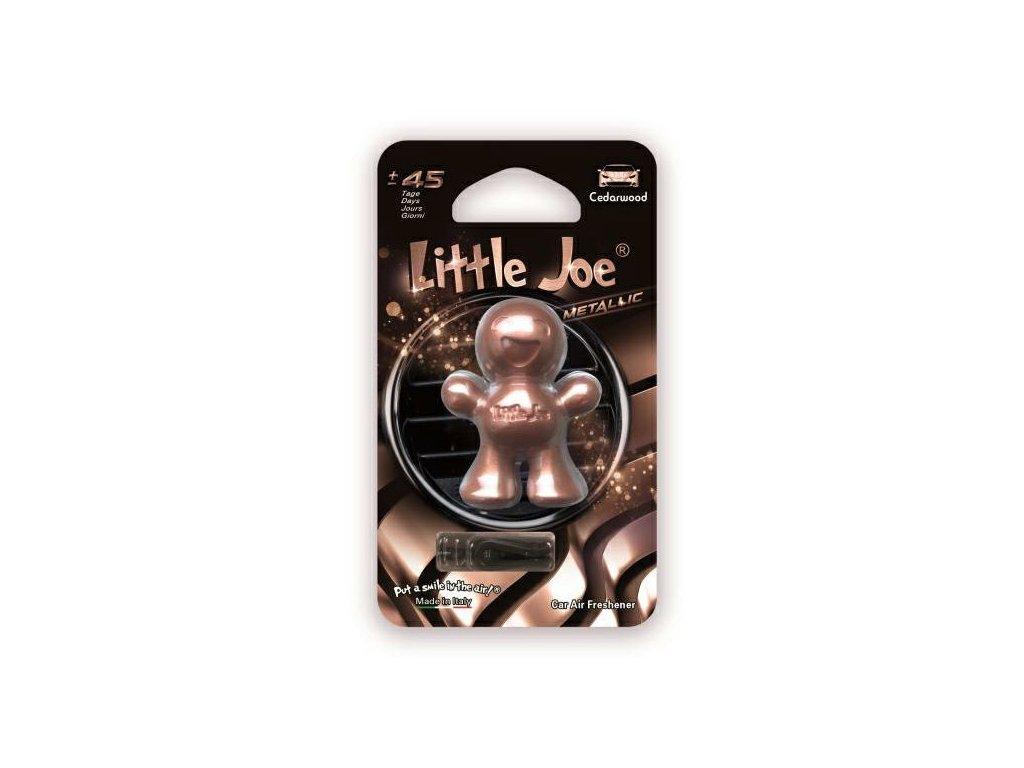 Little Joe Metallic Cedarwood osviežovač do auta