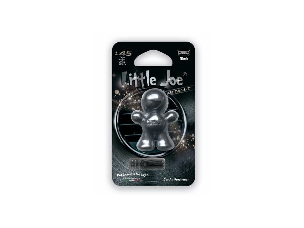 Little Joe Metallic Musk osviežovač do auta