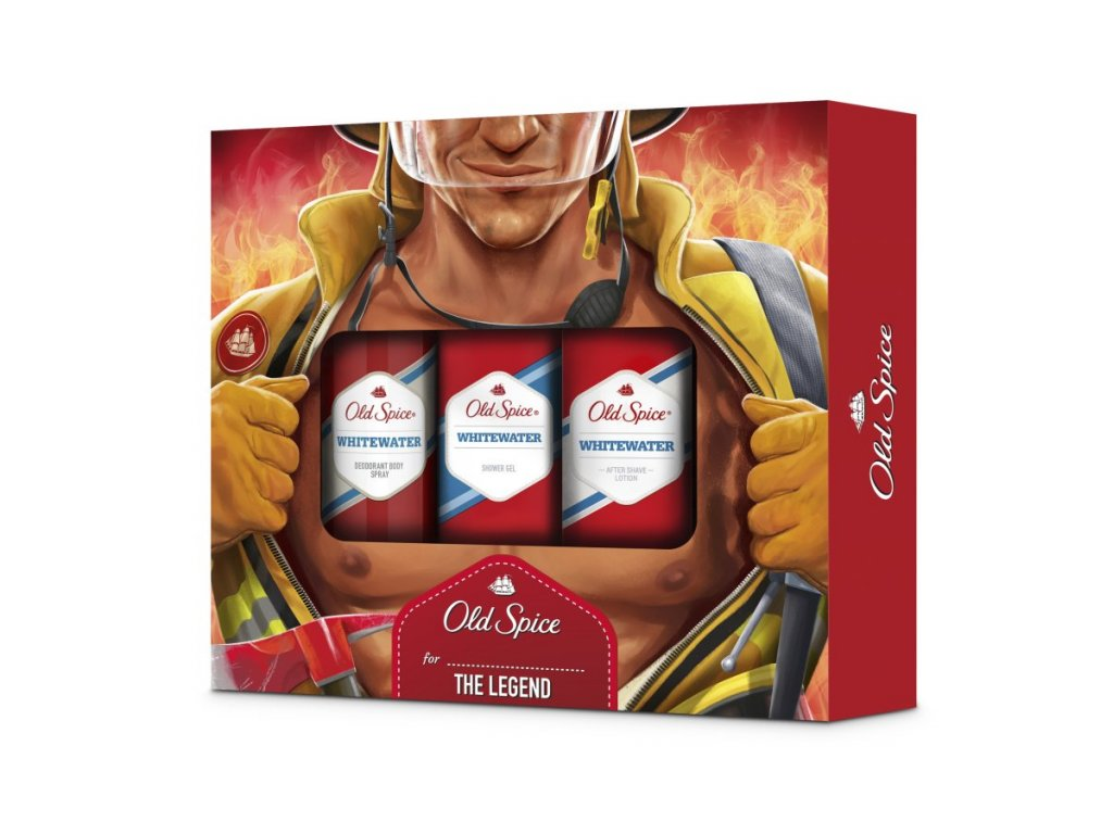 OLD SPICE Whitewater Fireman Trio