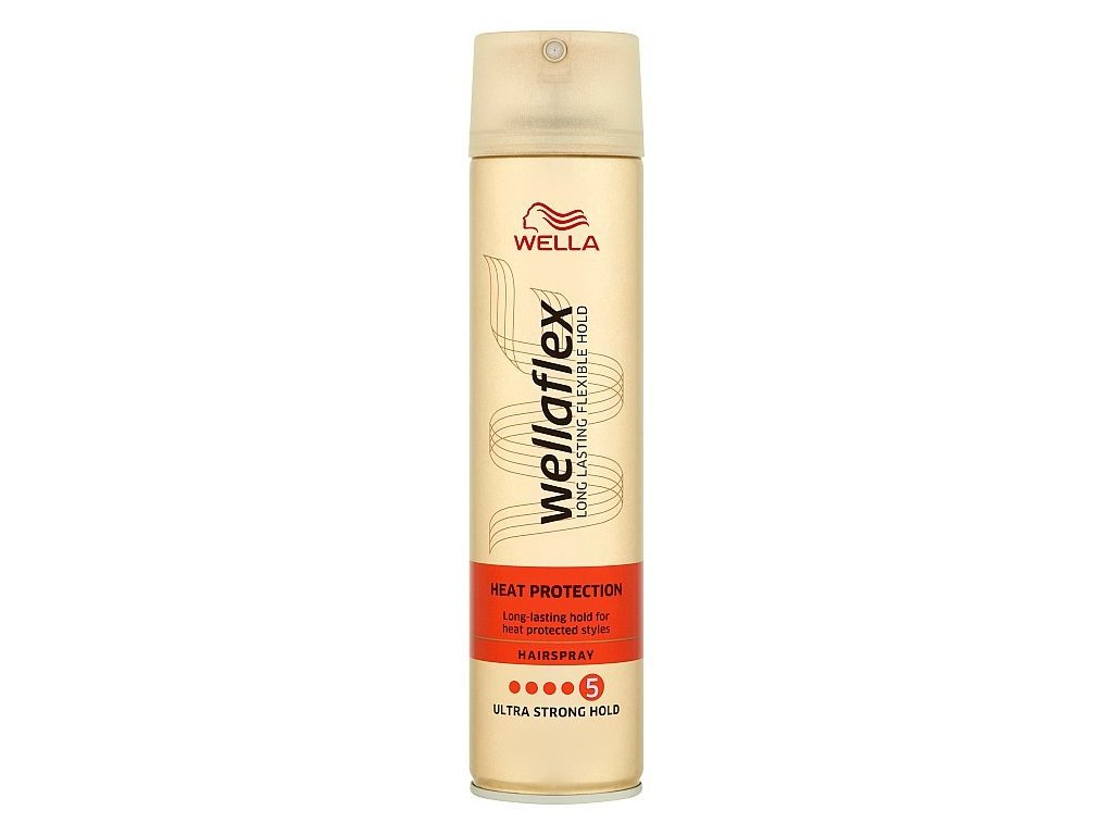 Wellaflex Heat Protection Ultra Strong Hold lak na vlasy 250 ml