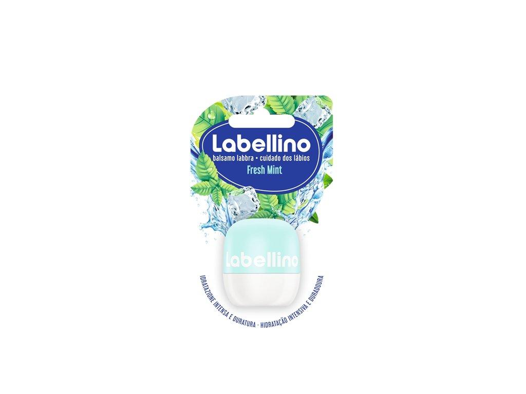 Labello Labellino Fresh Mint ošetrujúci balzam na pery 7 g