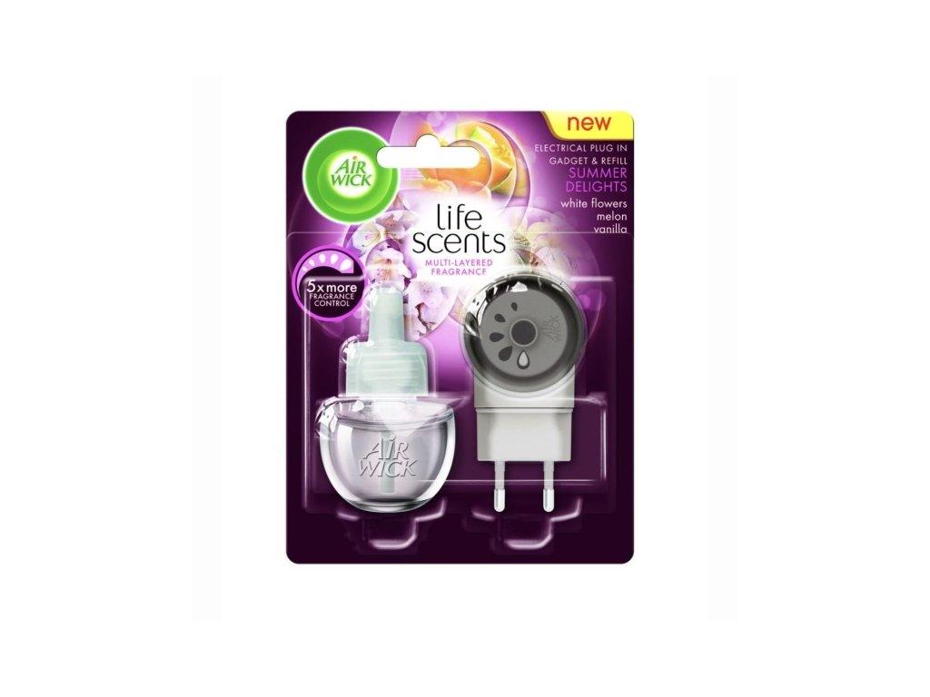 Air Wick Summer Delights elektrický osviežovač + náplň 19ml