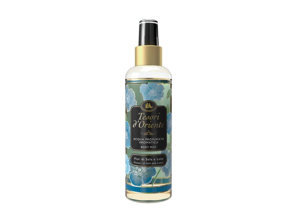 Tesori d'Oriente Fior di Sale e Loto parfémovaný telový spray 200ml