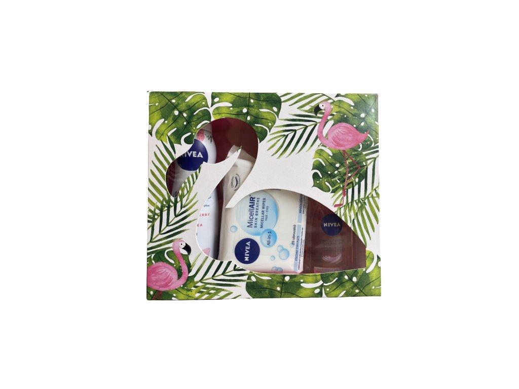 Nivea Flamingo darčekový set