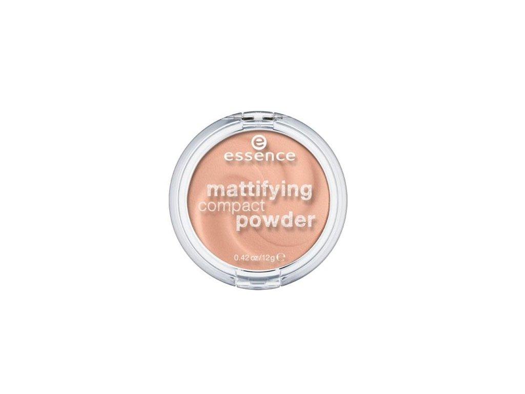 Essence Mattifying kompaktný púder s matným efektom 02 Soft Beige 12g