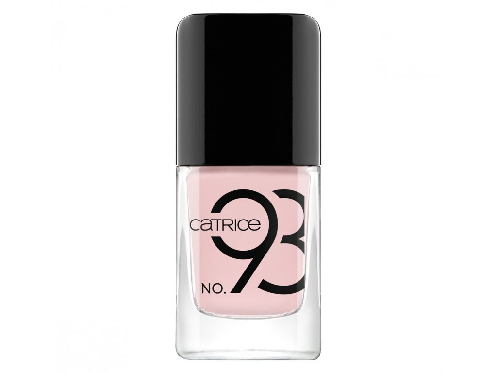 Catrice Iconails lak na nechty s gélovým efektom 093 So many polish, so little nails 10,5ml