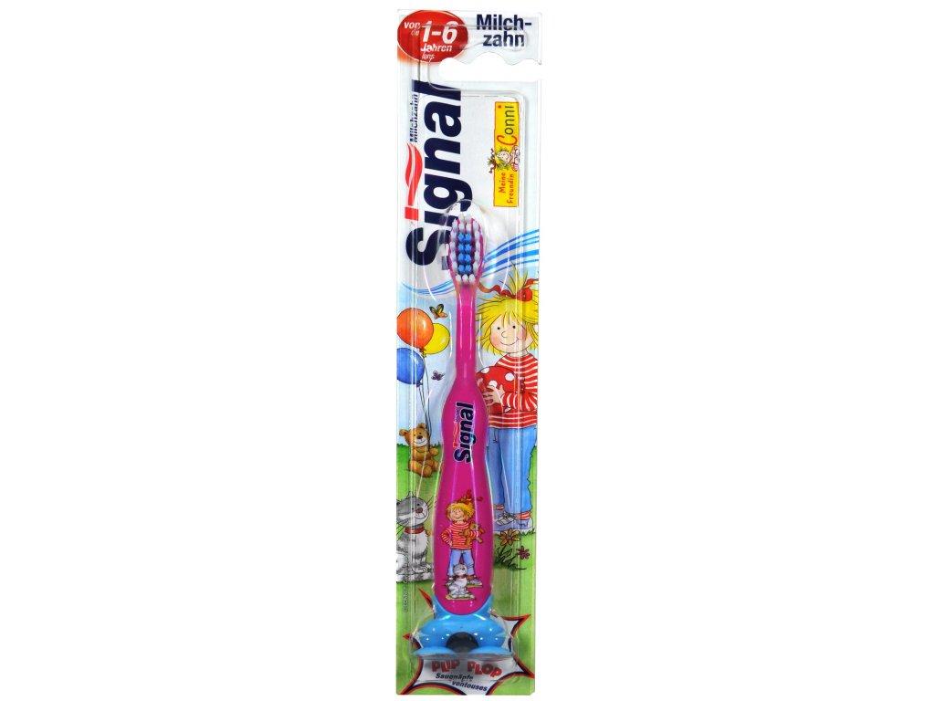 Signal Conni detská zubná kefka 0-6 rokov 1ks
