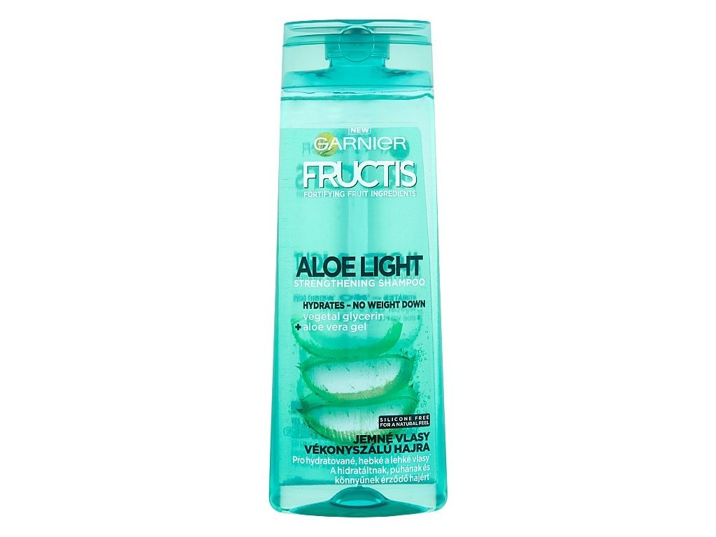 Garnier Fructis Aloe Light šampón 400 ml 2