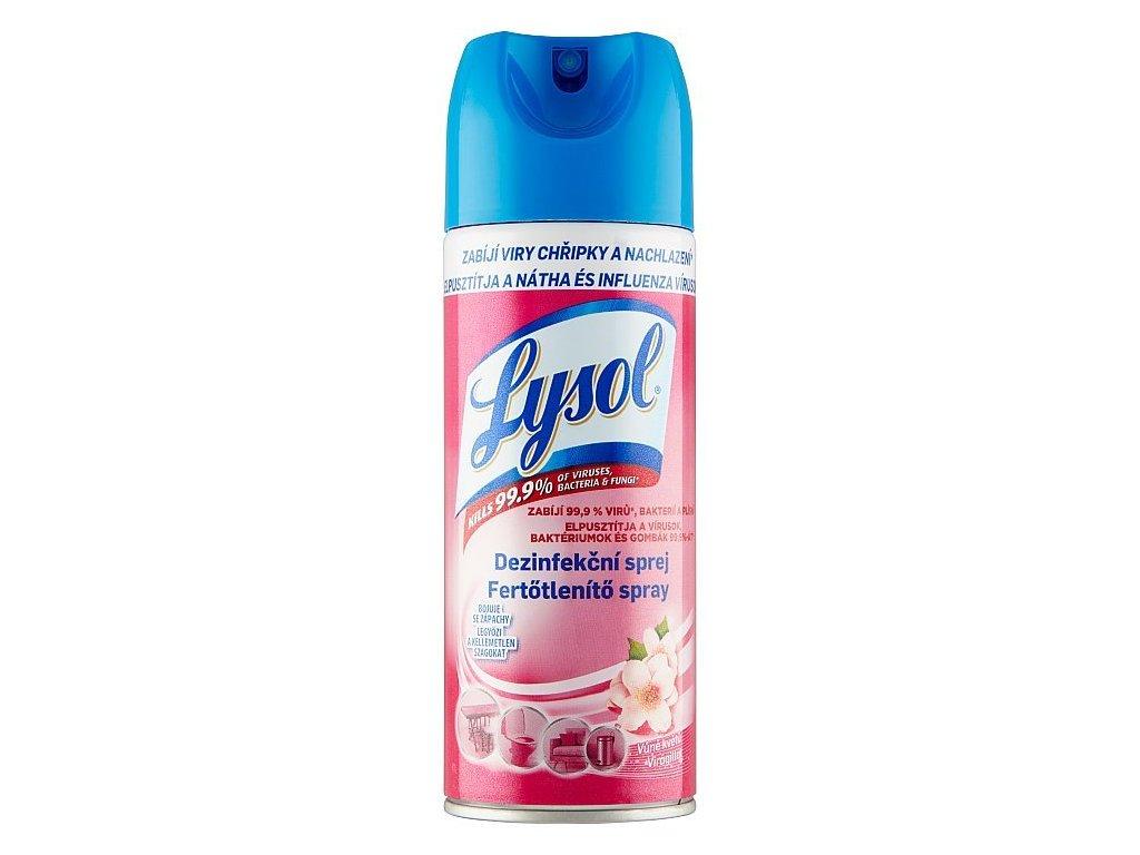 LYSOL Dezinfekčný sprej vôňa kvetov 400 ml