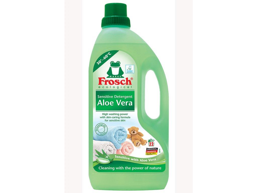 FROSCH EKO Prací prostriedok sensitive Aloe vera 1,5l