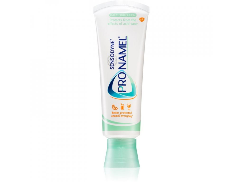 sensodyne pro namel daily protection pasta posilnujuca zubnu sklovinu na kazdodenne pouzitie mint 75 ml 75 ml zubne pasty 13402958