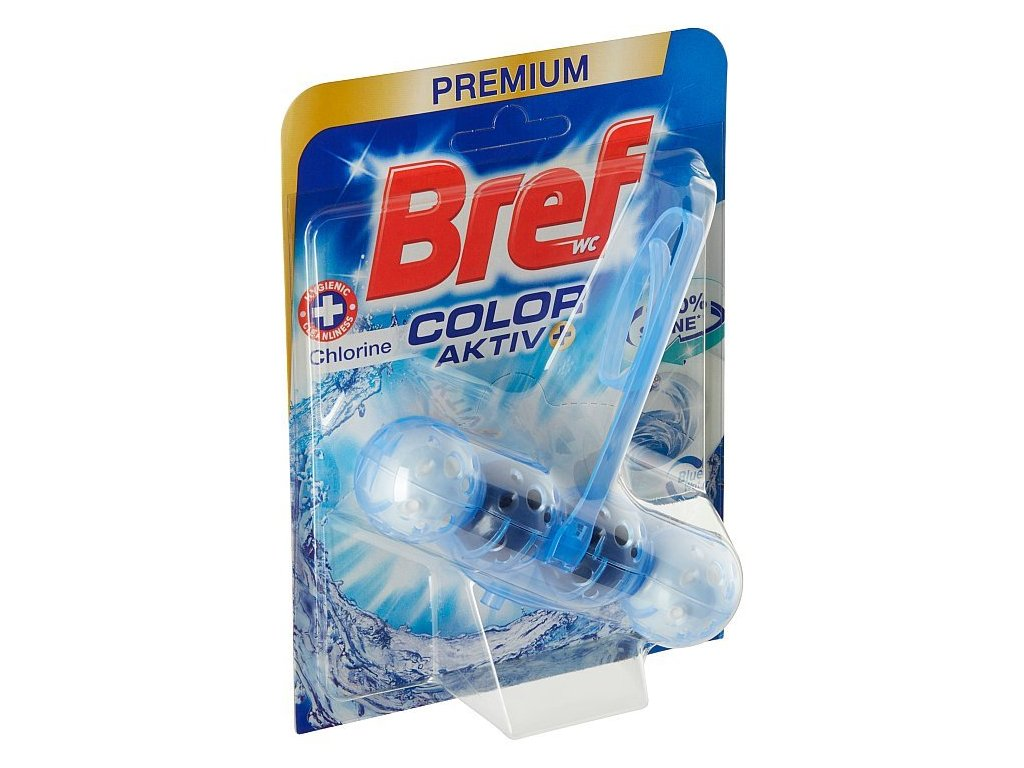 Bref Blue Aktiv Chlorine WC Blok 50g