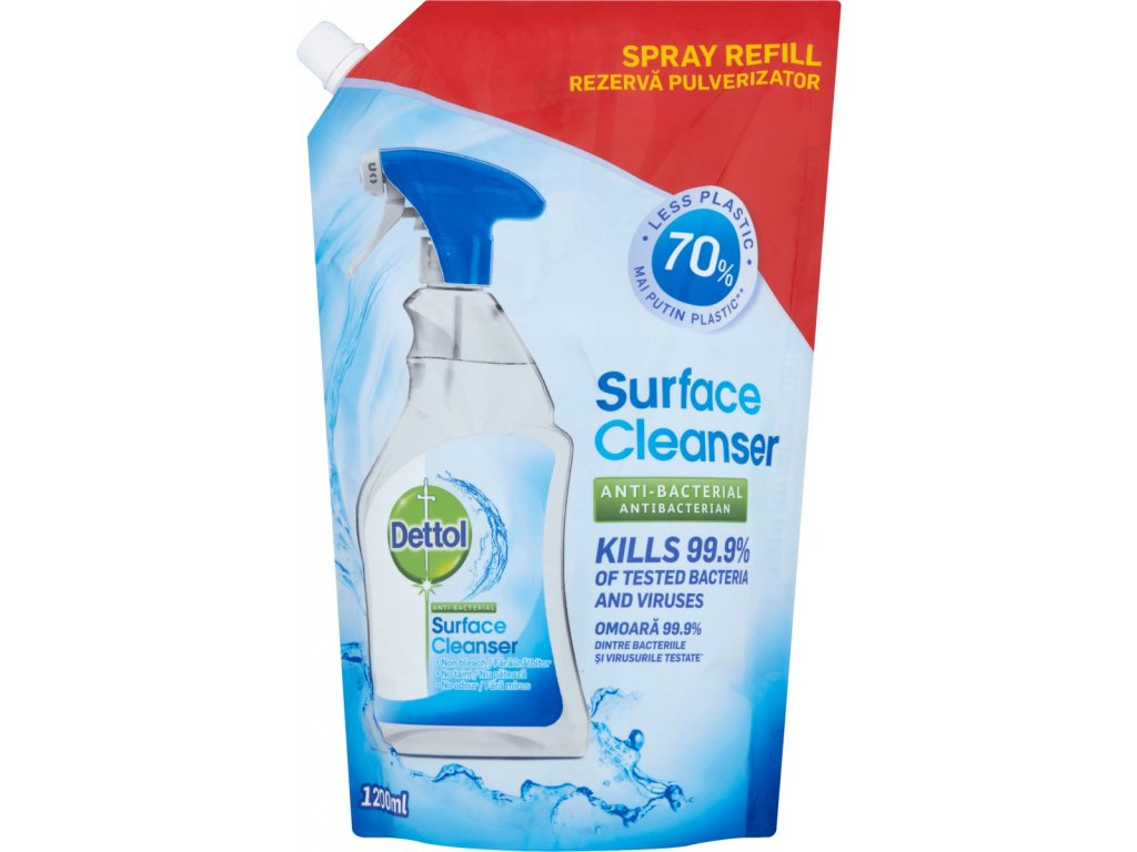dettol antibakterialis felulettisztito spray utantolto