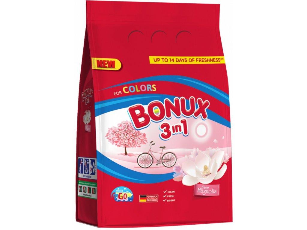 Bonux 3in1 Magnolia prášok na pranie 6kg 80PD