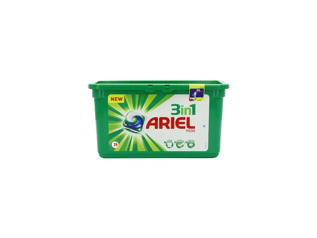 Ariel 3in1 Regular gélové kapsule 39ks