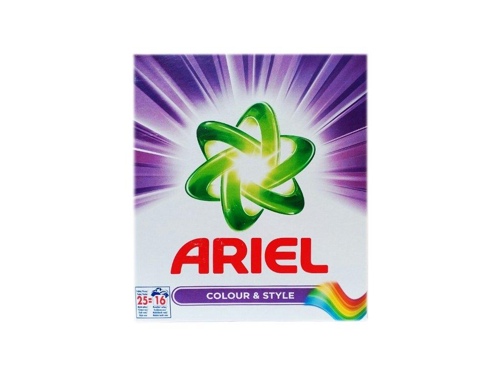 Ariel Colory&Style prací prášok 16 praní 688g
