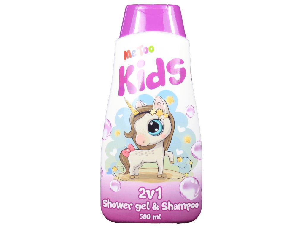 MeToo Magic Unicorn 2v1 sprchový gél + šampón na vlasy 500ml
