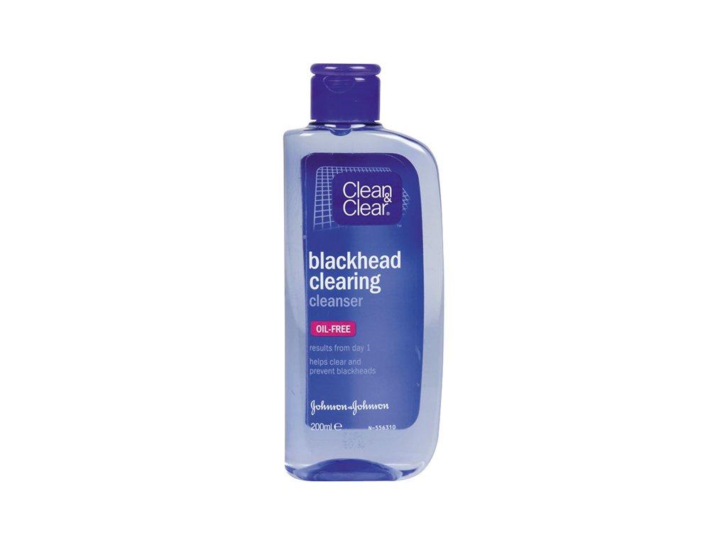 Clean&Clear Blackhead Clearing pleťová voda proti čiernym bodkám 200ml