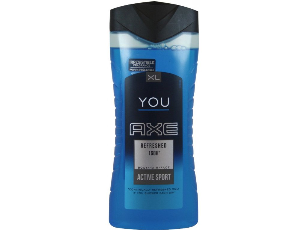 Axe you Refreshed sprchový gél 400ml