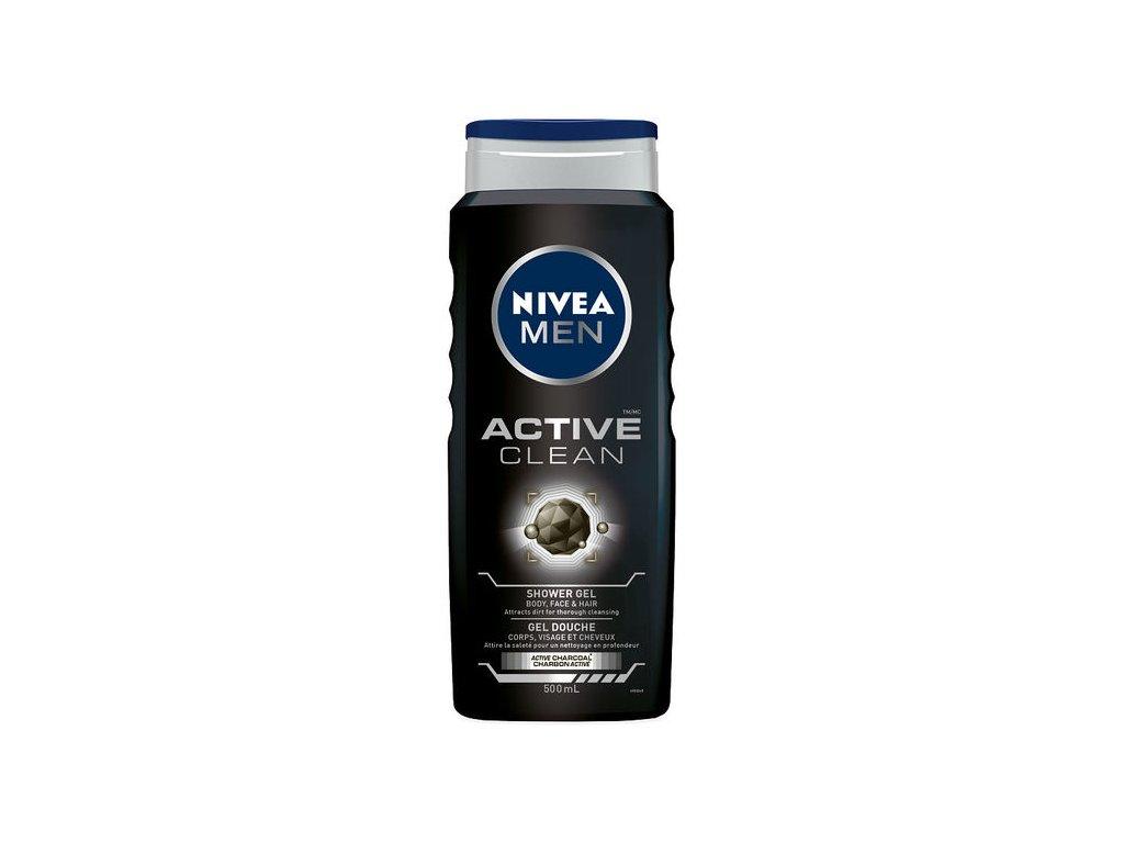 Nivea Men Active Clean sprchový gél 500ml