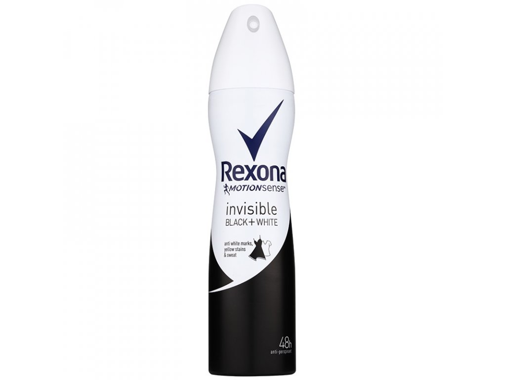 Rexona Invisible Black & White deodorant 150ml