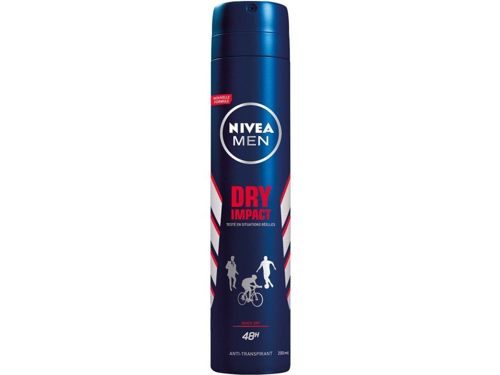Nivea Men Dry Impact deospray 200 ml