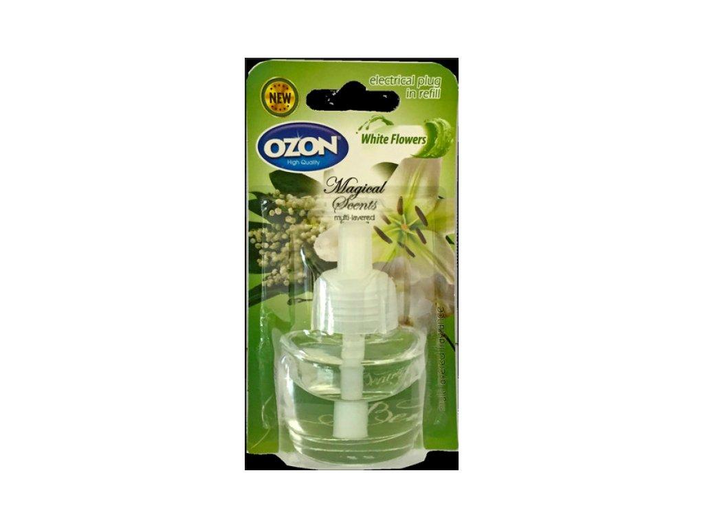 Ozon White Flowers náplň do elektronického osviežovača 19ml