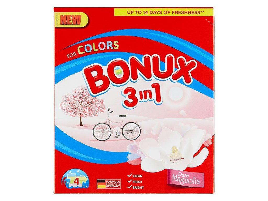 Bonux Pure Magnolia prací prášok 4PD 300g