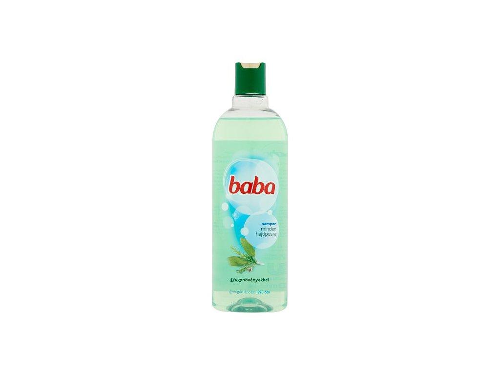 Baba šampón na všetky typy vlasov 400ml