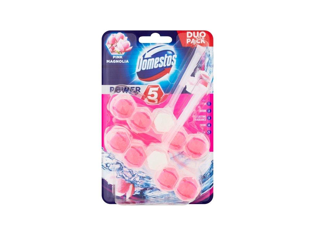 Domestos Power 5 Pink Magnolia 2x55g