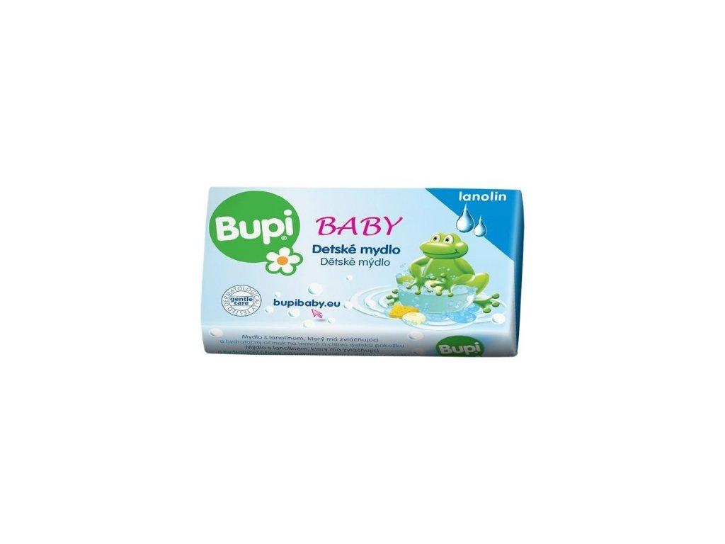 BUPI Baby Detské mydlo s lanolínom 100 gvv