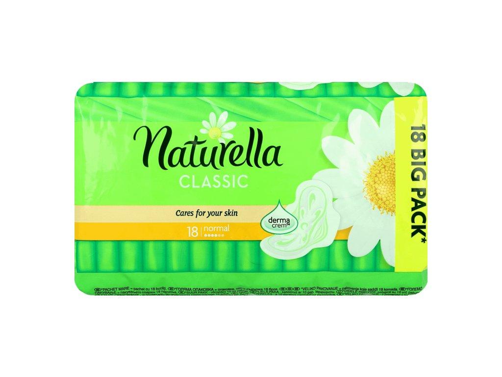 Naturella Classic Normal hygienické vložky 18ks