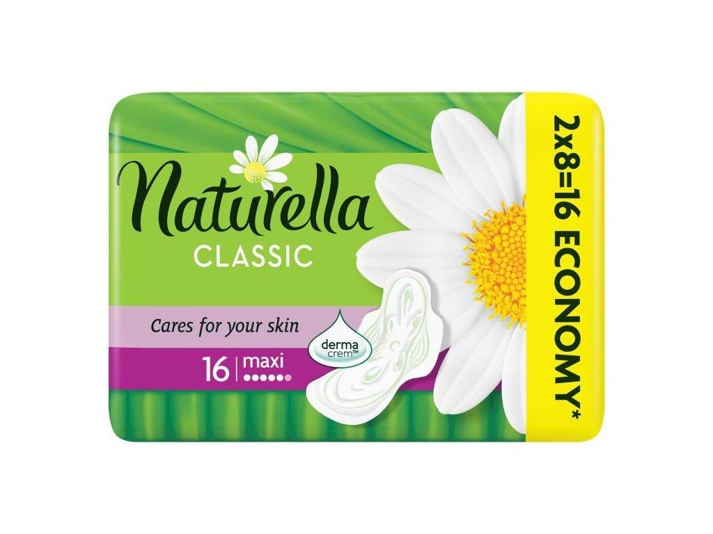 Naturella Classic Maxi hygienické vložky 16ks